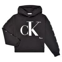 Oblačila Deklice Puloverji Calvin Klein Jeans SALOMA Črna
