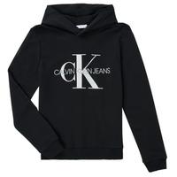 Oblačila Otroci Puloverji Calvin Klein Jeans TRINIDA Črna