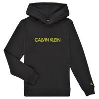 Oblačila Otroci Puloverji Calvin Klein Jeans ZOPLINA Črna
