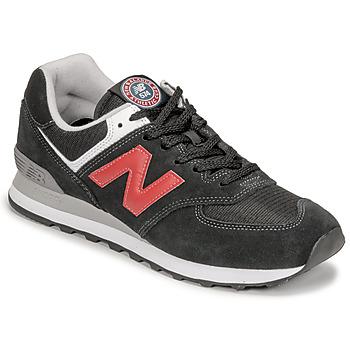 Čevlji  Moški Nizke superge New Balance 574 Črna / Rdeča
