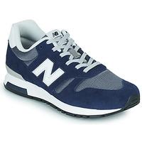 Čevlji  Moški Nizke superge New Balance 565 Modra / Siva