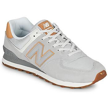 Čevlji  Moški Nizke superge New Balance 574 Siva / Bež