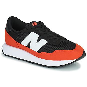 Čevlji  Moški Nizke superge New Balance 237 Črna / Oranžna