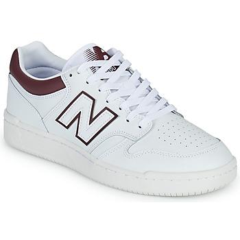 Čevlji  Moški Nizke superge New Balance 480 Bela / Bordo