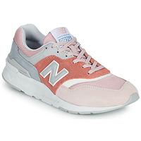 Čevlji  Ženske Nizke superge New Balance 997 Rožnata / Siva