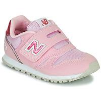 Čevlji  Deklice Nizke superge New Balance 373 Rožnata