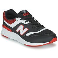 Čevlji  Dečki Nizke superge New Balance 997 Črna / Rdeča