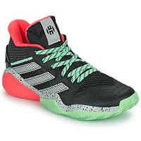 Čevlji  Košarka adidas Performance HARDEN STEPBACK Črna / Siva / Zelena