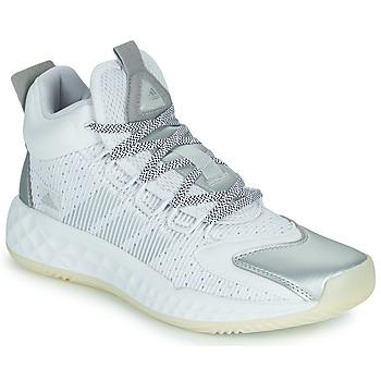 Čevlji  Košarka adidas Performance PRO BOOST MID Bela / Srebrna