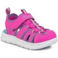 Čevlji  Deklice Sandali & Odprti čevlji Skechers SANDALIAS NIÑA  302100L Rožnata