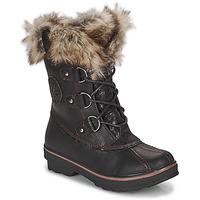 Čevlji  Ženske Škornji za sneg Kimberfeel CAMILLE Črna