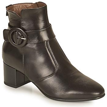 Čevlji  Ženske Gležnjarji NeroGiardini BLETTO Črna