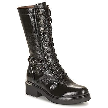 Čevlji  Ženske Mestni škornji    NeroGiardini COURGO Črna