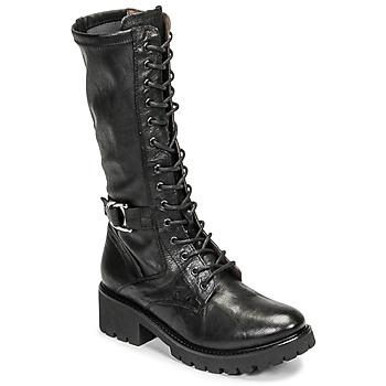 Čevlji  Ženske Mestni škornji    NeroGiardini CRESSONO Črna
