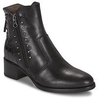 Čevlji  Ženske Gležnjarji NeroGiardini ENDIVO Črna