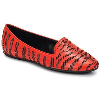 Čevlji  Ženske Mokasini Roberto Cavalli TPS648 Rdeča