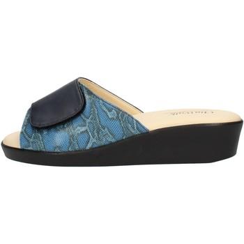 Čevlji  Ženske Natikači Clia Walk COMFORT310 Blue