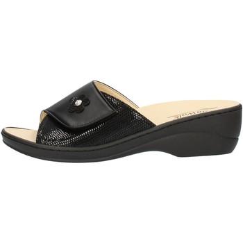 Čevlji  Ženske Natikači Clia Walk ESTRAIBILE496 Black