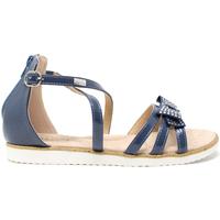 Čevlji  Otroci Sandali & Odprti čevlji Miss Sixty S19-SMS577 Modra