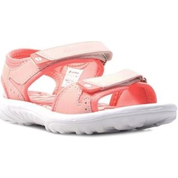 Čevlji  Otroci Sandali & Odprti čevlji Lotto L55098 Roza