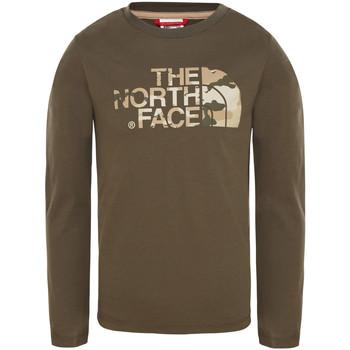Oblačila Otroci Majice & Polo majice The North Face T93S3B Zelena