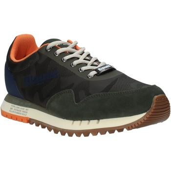 Čevlji  Moški Nizke superge Blauer S1DENVER06/CAS Zelena