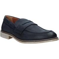 Čevlji  Moški Mokasini Melluso XU31063 Modra