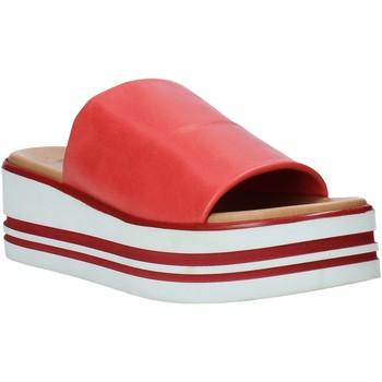 Čevlji  Ženske Natikači Melluso 09602X Rdeča