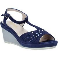 Čevlji  Ženske Sandali & Odprti čevlji Melluso HR70511 Modra