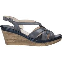 Čevlji  Ženske Sandali & Odprti čevlji Melluso 019046Z Modra
