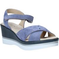 Čevlji  Ženske Sandali & Odprti čevlji Melluso .037064F Modra
