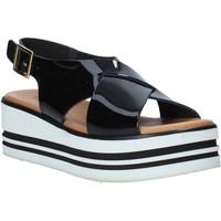 Čevlji  Ženske Sandali & Odprti čevlji Melluso 09603X Črna