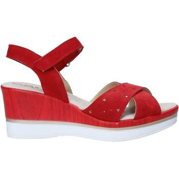 Čevlji  Ženske Sandali & Odprti čevlji Melluso 037064F Rdeča