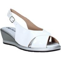 Čevlji  Ženske Sandali & Odprti čevlji Melluso 037084X Biely