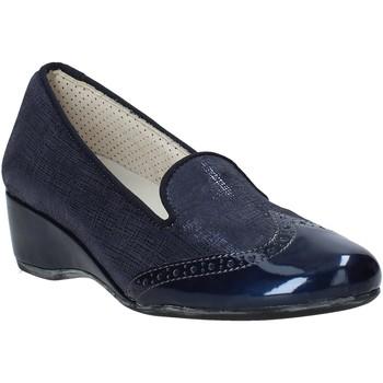 Čevlji  Ženske Mokasini Melluso H08131 Modra