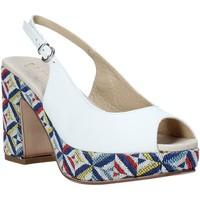Čevlji  Ženske Sandali & Odprti čevlji Melluso .037081 Biely