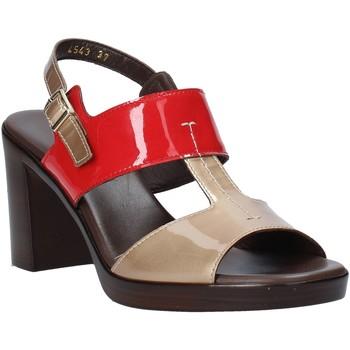Čevlji  Ženske Sandali & Odprti čevlji Melluso HR8540 Rdeča