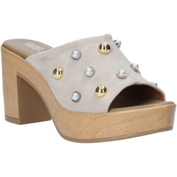 Čevlji  Ženske Natikači Melluso HR80101 Siva