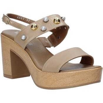 Čevlji  Ženske Sandali & Odprti čevlji Melluso HR80107 Bež