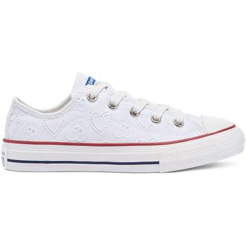 Čevlji  Otroci Nizke superge Converse 671098C Biely