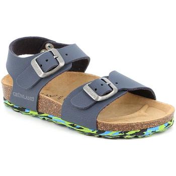 Čevlji  Otroci Sandali & Odprti čevlji Grunland SB1644 Modra