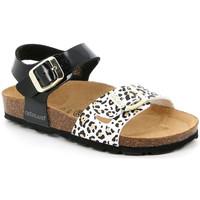 Čevlji  Deklice Sandali & Odprti čevlji Grunland SB1525 Črna