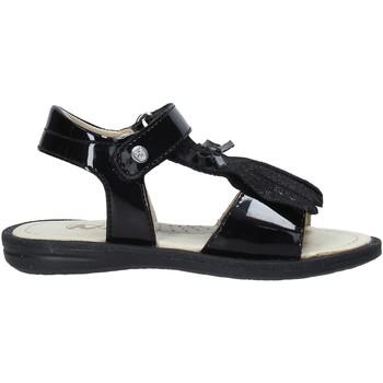 Čevlji  Deklice Sandali & Odprti čevlji Naturino 502579 61 Črna