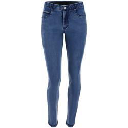 Oblačila Ženske Jeans skinny Freddy BLACK1RS101 Modra