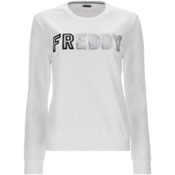 Oblačila Ženske Puloverji Freddy S1WCLS4 Biely