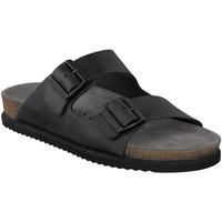 Čevlji  Moški Natikači Mephisto P5113481 Črna