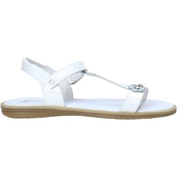 Čevlji  Deklice Sandali & Odprti čevlji Naturino 502393 01 Biely