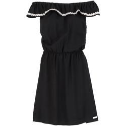 Oblačila Ženske Kratke obleke Café Noir JA6090 Črna