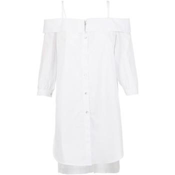 Oblačila Ženske Srajce & Bluze Café Noir JC6260 Biely