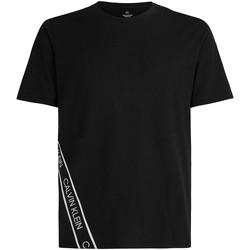 Oblačila Moški Majice s kratkimi rokavi Calvin Klein Jeans 00GMS1K263 Črna